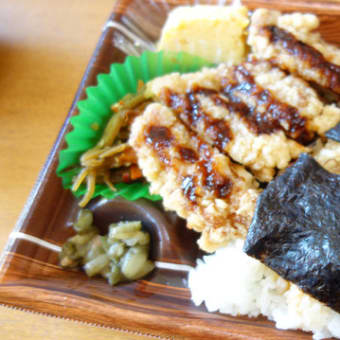 キッチンオリジン  のりチキン竜田弁当おかか。