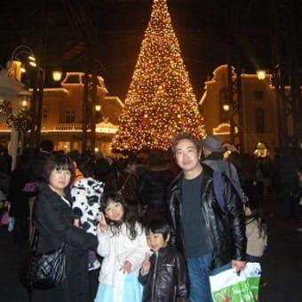 今年も、昭彦一家、夢と魔法の国へ