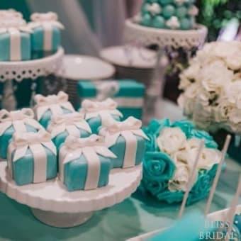 Tiffany BlueのDIYアイテムがいっぱい Hilton Hawaiian Villageで日米ハイブリッドウェディング    ID:y6eog5