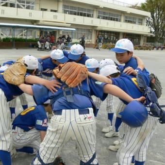 4月14日 ジャガーズ 低学年 練習試合