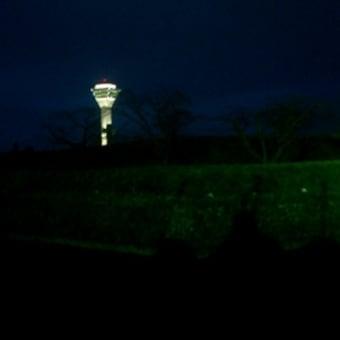 夜空の五稜郭タワー