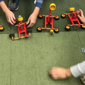 ロボット教室・4月ミドルコースは「ロボバッター」