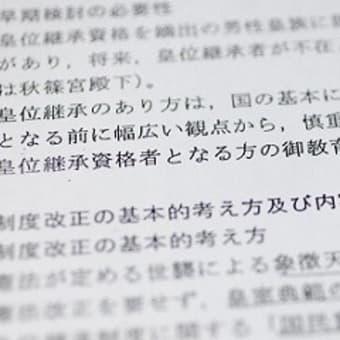 【政府、女性天皇04年に容認方針 97年から極秘検討】 共同通信2019/3/28