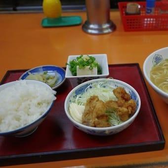 関白のラーメン定食 (呉市中通)