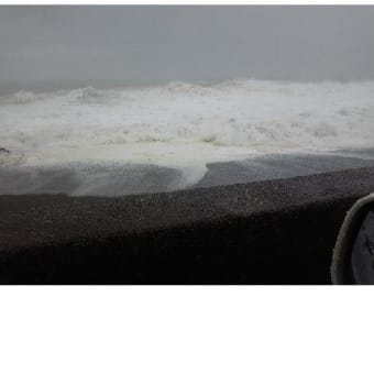 太平洋の波のすごさ