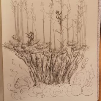 ツリーおんツリー。