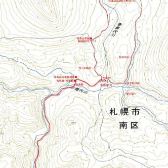 春香山のGPSトラック