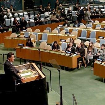 国連の場で平然と嘘を付く支那の習主席