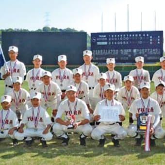 県中学硬式野球選手権大会で紀州由良シニア初の準優勝 〈2015年5月7日〉
