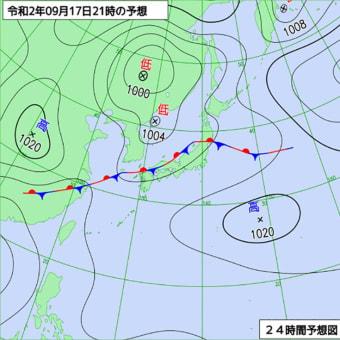 秋雨前線活発、九州北部 今夜から大雨に警戒を!