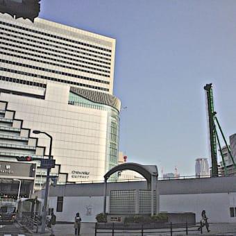 4月18日の大阪神ビルディング建替工事