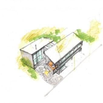 ボツ案。 Early sketches of various projects