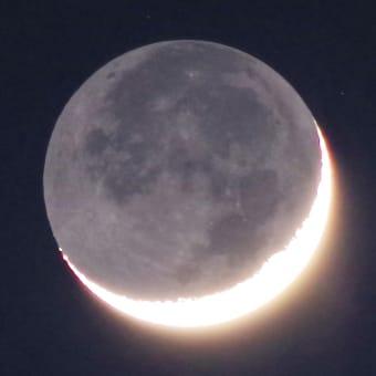 月2021.4.15夜と木星4.16朝