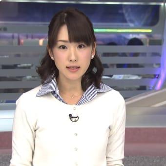 堂真理子 ANNニュース 13/02/13