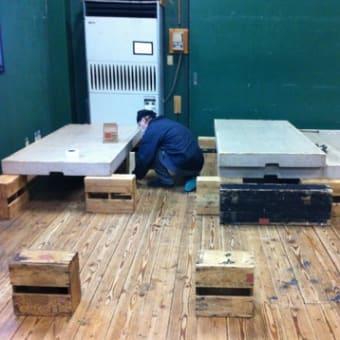舞台の設営