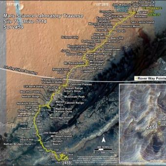 Sols 2461-2462:MAHLIの活躍