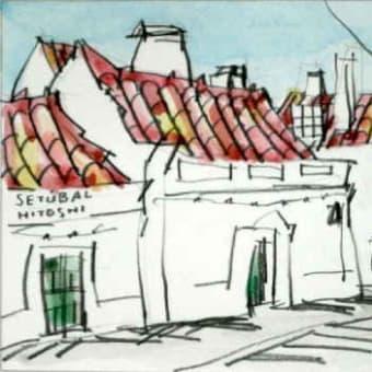 1805. セトゥーバルの町角