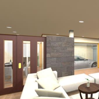注文住宅に大切な家と間取りと人の暮らし、生活の日常にあるガレージのある家、駐車場と家の関連付けは日頃のマイカー(愛車)との付き合い方の設計デザイン感度が大切。