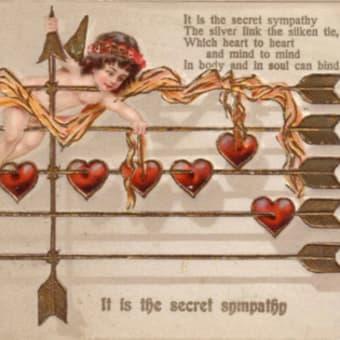 愛のメモリー「世界のハート絵葉書展」