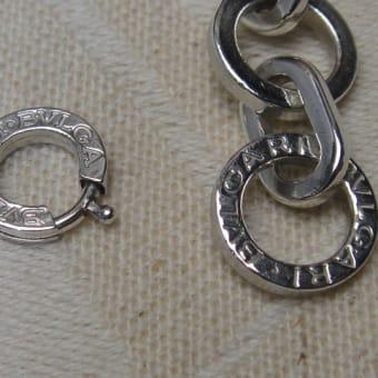 ブルガリのブレスレットの金具修理