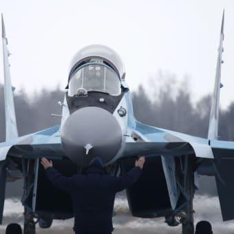 ロシア軍 第4++世代戦闘機 MiG-35
