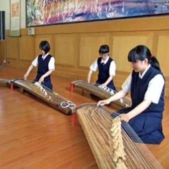 日高高校が友好親善へ第16中学校(中国大連市)と姉妹校締結 〈2015年5月27日〉