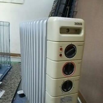暖房機 オイルヒーターご寄付のお願い