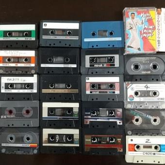 カセットテープは簡便なところがメリットでしたね