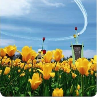 ◆国内最大級の花の祭典「2021となみチューリップフェア」の開幕を祝!