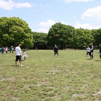 代々木公園でリングビー!PART2
