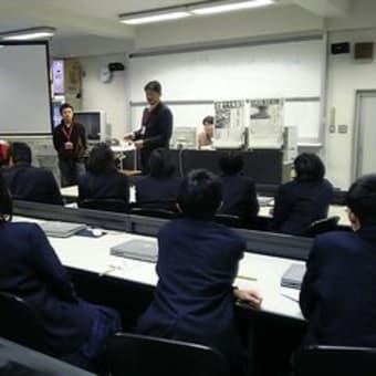 京都府の耐震出前授業