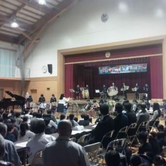 赤碕小学校学習発表会。