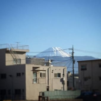 山梨からの富士山