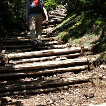 2012/09 日光男体山に登る