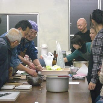 【 黄金区健康作戦会議 その④…男の料理教室 】