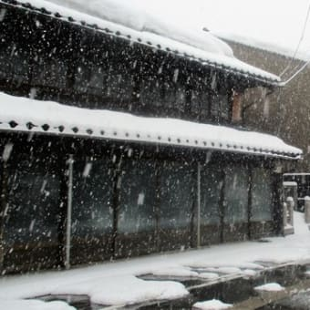 朝の積雪状況  180218(日)