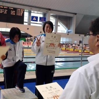 第62回 静岡県高等学校総体 水泳競技 3日目結果!!