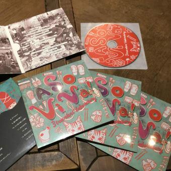 初のCD音源 『3 travelers' laboratory』 Release!!