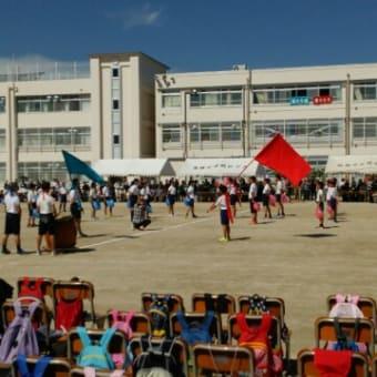 昨日は小学校の運動会