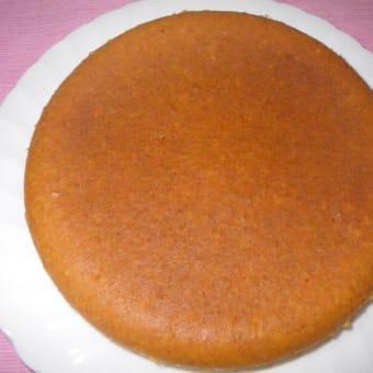 おうちでスイーツ「ニンジン炊飯器ケーキ」