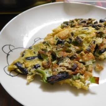 四角豆と紫ササゲのかき揚げ