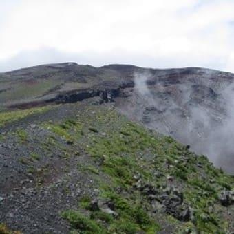 六合目までの富士山