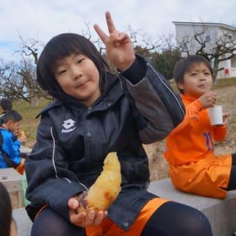 初蹴り!!!(ジュニアチーム)