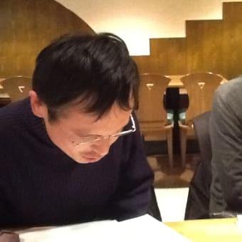 「大阪研究会、懇親会@グリーンアース」の報告