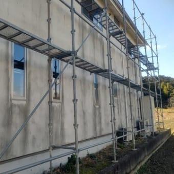 鴨島町の家、塗り替え工事