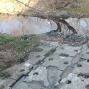 「空堀川」風景