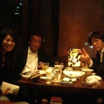 吉田社長とお食事。