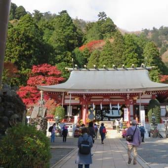 2020紅葉 大山「阿夫利(あふり)神社」