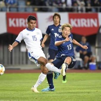 サッカー日本代表が令和初勝利!久保建英が待望の代表デビュー!