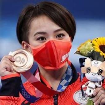 体操村上が銅、女子個人で初快挙 レスリング文田が銀、第11日